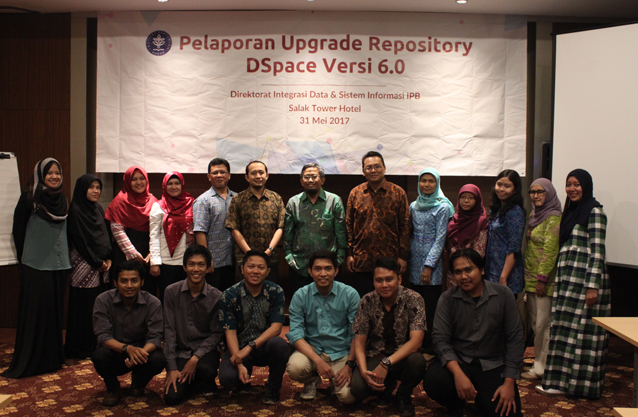Upgrade Repository DSpace V 6.0